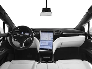 2016 Tesla Motors Model X Pictures Model X Utility 4D Performance AWD photos full dashboard