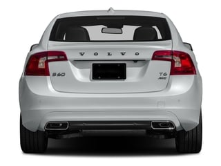 2016 Volvo S60 Pictures S60 Sedan 4D T6 Platinum Drive-E Turbo photos rear view