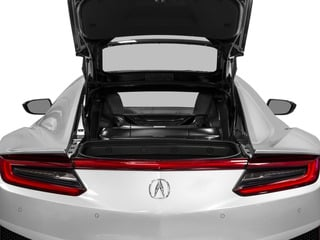 2017 Acura NSX Pictures NSX Coupe 2D AWD V6 Hybrid Turbo photos open trunk
