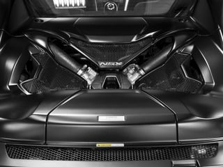 2017 Acura NSX Pictures NSX Coupe 2D AWD V6 Hybrid Turbo photos engine