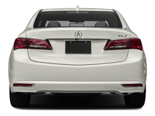 2017 Acura TLX Pictures TLX Sedan 4D I4 photos rear view