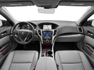 2017 Acura TLX Pictures TLX FWD V6 w/Technology Pkg photos full dashboard