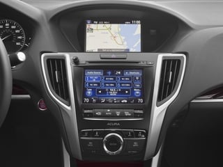 2017 Acura TLX Pictures TLX SH-AWD V6 w/Advance Pkg photos stereo system