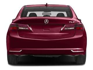 2017 Acura TLX Pictures TLX Sedan 4D V6 photos rear view