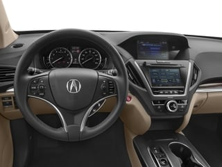 2017 Acura MDX Pictures MDX SH-AWD photos driver's dashboard