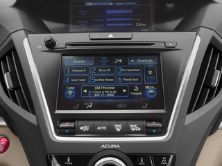 2017 Acura MDX Pictures MDX SH-AWD photos stereo system