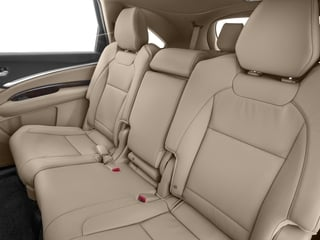 2017 Acura MDX Pictures MDX SH-AWD photos backseat interior