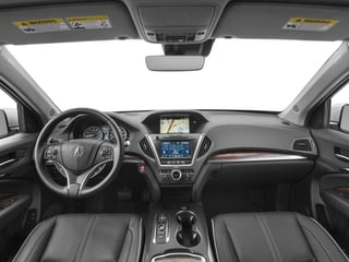 2017 Acura MDX Pictures MDX Utility 4D Advance 2WD V6 photos full dashboard