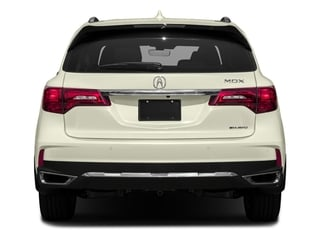 2017 Acura MDX Pictures MDX SH-AWD w/Advance Pkg photos rear view
