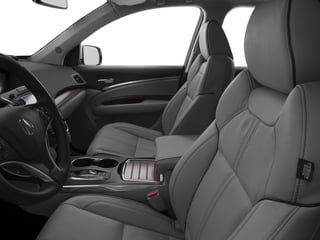 2017 Acura MDX Pictures MDX SH-AWD w/Advance Pkg photos front seat interior