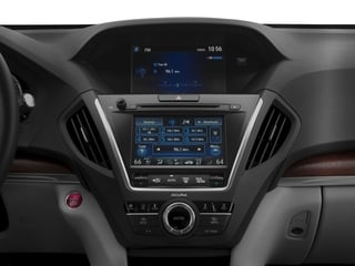 2017 Acura MDX Pictures MDX Utility 4D Advance AWD V6 photos stereo system