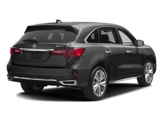 2017 Acura MDX Pictures MDX FWD w/Technology Pkg photos side rear view
