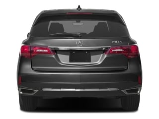 2017 Acura MDX Pictures MDX FWD w/Technology Pkg photos rear view