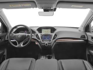 2017 Acura MDX Pictures MDX FWD w/Technology Pkg photos full dashboard