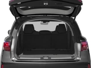 2017 Acura MDX Pictures MDX FWD w/Technology Pkg photos open trunk