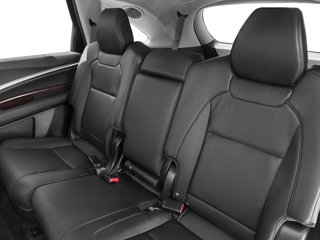2017 Acura MDX Pictures MDX FWD w/Technology Pkg photos backseat interior