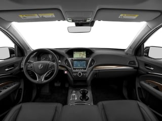 2017 Acura MDX Pictures MDX Utility 4D Technology AWD V6 photos full dashboard