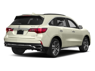2017 Acura MDX Pictures MDX SH-AWD w/Advance/Entertainment Pkg photos side rear view