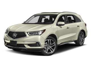 2017 Acura MDX Pictures MDX Utility 4D Advance DVD 2WD V6 photos side front view