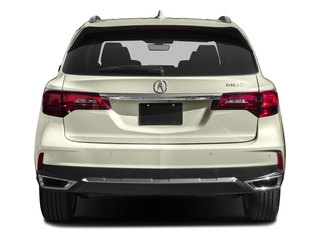 2017 Acura MDX Pictures MDX Utility 4D Advance DVD 2WD V6 photos rear view