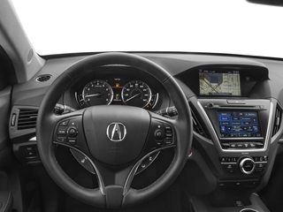 2017 Acura MDX Pictures MDX Utility 4D Advance DVD 2WD V6 photos driver's dashboard