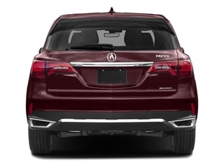 2017 Acura MDX Pictures MDX Utility 4D Technology DVD AWD V6 photos rear view