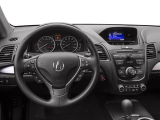 2017 Acura RDX Pictures RDX Utility 4D AWD V6 photos driver's dashboard