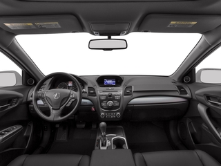 2017 Acura RDX Pictures RDX AWD photos full dashboard