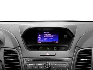 2017 Acura RDX Pictures RDX FWD photos stereo system