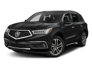 2017 Acura MDX Pictures MDX Utility 4D Advance AWD Hybrid photos side front view