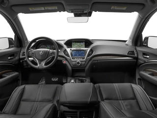 2017 Acura MDX Pictures MDX Utility 4D Advance AWD Hybrid photos full dashboard