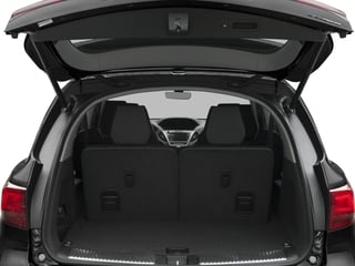 2017 Acura MDX Pictures MDX Utility 4D Advance AWD Hybrid photos open trunk