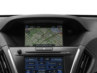 2017 Acura MDX Pictures MDX Utility 4D Advance AWD Hybrid photos navigation system