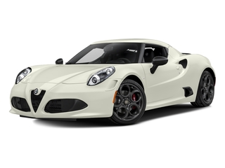 2017 Alfa Romeo 4C Coupe Pictures 4C Coupe 2D photos side front view