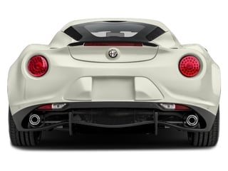 2017 Alfa Romeo 4C Coupe Pictures 4C Coupe 2D photos rear view