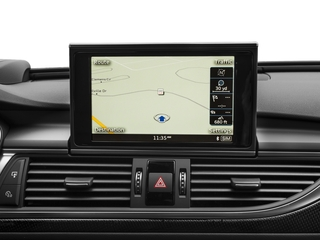 2017 Audi S6 Pictures S6 4.0 TFSI Prestige photos navigation system