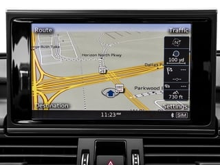 2017 Audi S7 Pictures S7 Sedan 4D S7 Prestige AWD photos navigation system