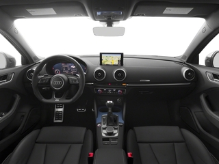 2017 Audi RS 3 Pictures RS 3 Sedan 4D RS3 AWD photos full dashboard