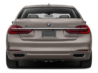 2017 BMW 7 Series Pictures 7 Series Sedan 4D 750xi AWD Turbo photos rear view