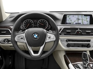 2017 BMW 7 Series Pictures 7 Series Sedan 4D 750xi AWD Turbo photos driver's dashboard