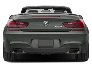 2017 BMW 6 Series Pictures 6 Series Convertible 2D 650i V8 photos rear view