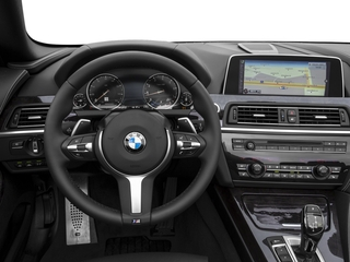 2017 BMW 6 Series Pictures 6 Series Convertible 2D 650i V8 photos driver's dashboard
