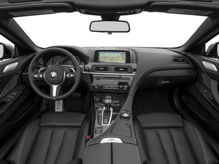 2017 BMW 6 Series Pictures 6 Series Convertible 2D 650i V8 photos full dashboard