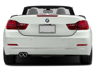 2017 BMW 4 Series Pictures 4 Series Convertible 2D 430xi AWD I4 Turbo photos rear view