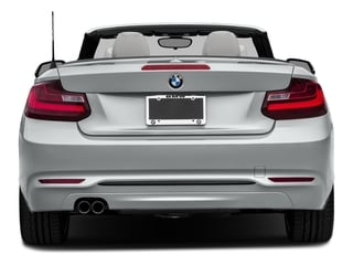 2017 BMW 2 Series Pictures 2 Series Convertible 2D 230xi AWD I4 Turbo photos rear view