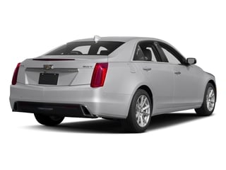 2017 Cadillac CTS Sedan Pictures CTS Sedan 4D AWD I4 Turbo photos side rear view