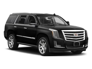 2017 Cadillac Escalade Pictures Escalade Utility 4D Premium Luxury 2WD V8 photos side front view
