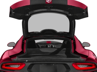 2017 Dodge Viper Pictures Viper GTC Coupe photos open trunk