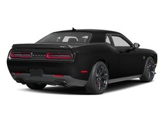 2017 Dodge Challenger Pictures Challenger SRT Hellcat Coupe photos side rear view