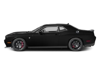 2017 Dodge Challenger Pictures Challenger SRT Hellcat Coupe photos side view